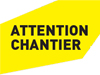 logo attention chantier